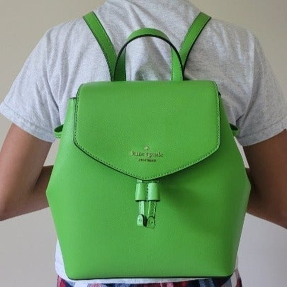 NWT Kate Spade Green Backpack and Wallet